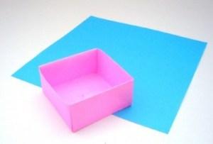 折り紙を使って簡単に豆箱を折ってしまおう