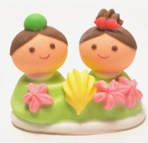 ひなケーキオーナメント