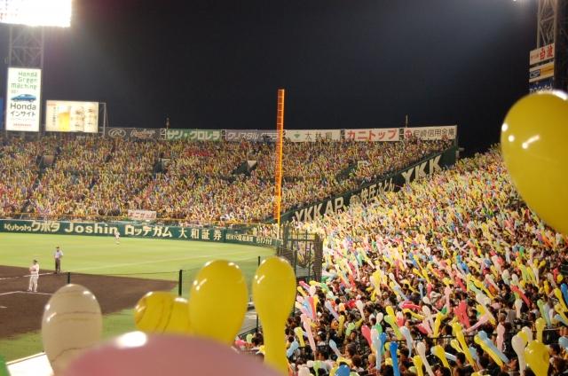 阪神タイガース応援甲子園球場