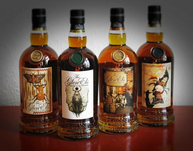 Gestaltung Whiskey-Etikett im Rahmen einer Künstler-Edition für Glen Els. www.hammerschmiede-spirituosen.de