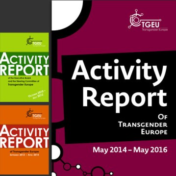 TGEU: transgender Europe