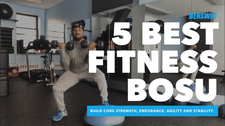 Benswic Best Fitness Bosu Balance Stability Endurance Strength