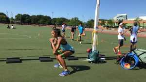 Benswic Track Camp Sports Performance Riverbank State Park