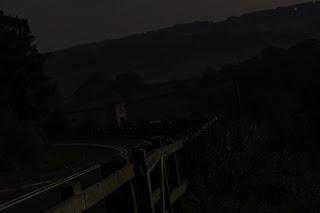 Moonlit Highway  - photo by  Benjamin Akira Tallamy