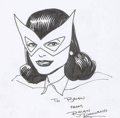 Brian Bolland rips off fan for $150