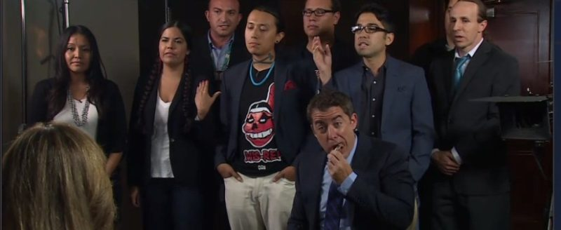 'The Daily Show' confronts 4 Redskins fans with 8 Native Americans, hilarity does not ensue