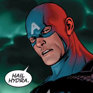 Captain America is a Hydra sleeper agent
