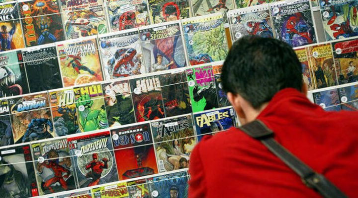 Comic books are a dead, decaying medium