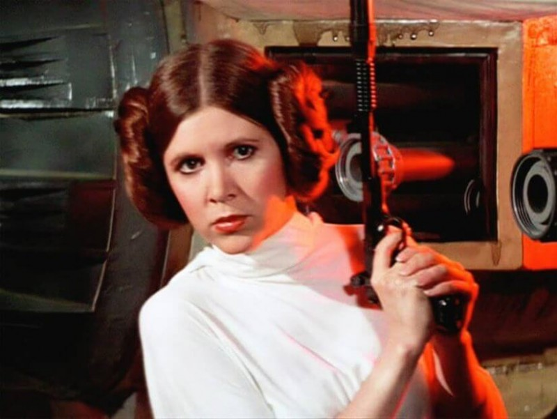 Carrie Fisher 1956 – 2016