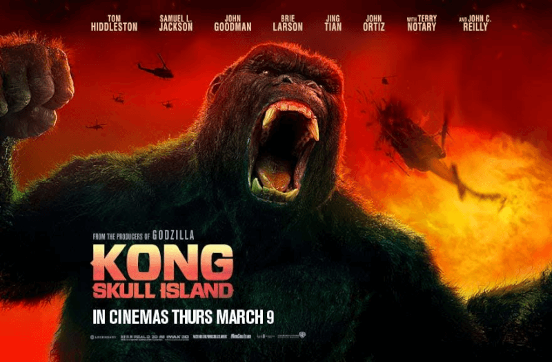 'Kong: Skull Island' was boring and I did not like it