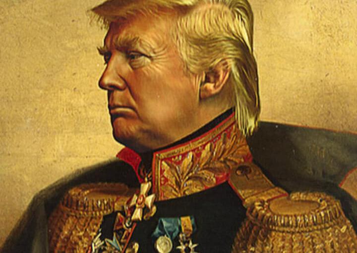 Draft dodging Donald Trump's transgender military ban
