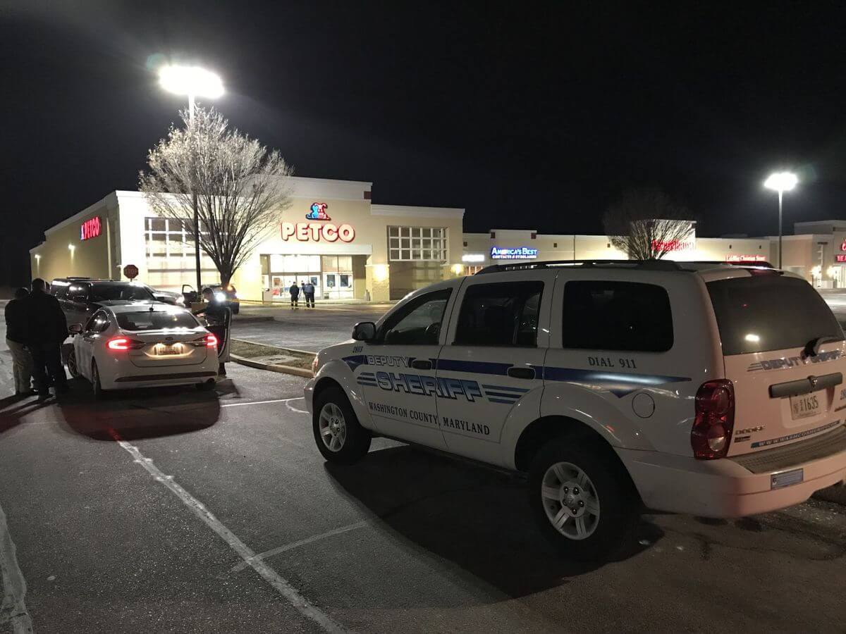 Shoplifting cuffufle takes place at Hagerstown Target