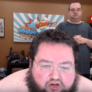 Boogie2988 and his roommate Chad just hanging out