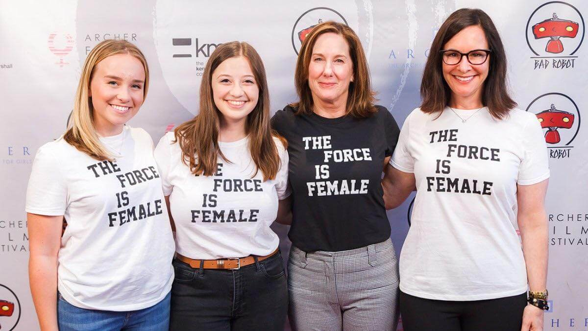 'The Force is Female' is not about Star Wars