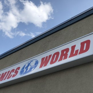 Comics World opens today in its new location
