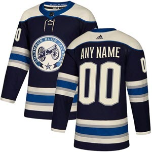 The Columbus Blue Jackets' alternate jersey is awesome