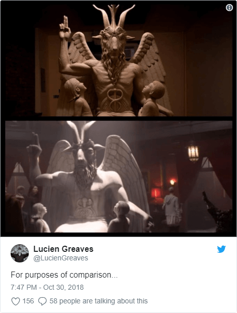 Satanic Temple threatens legal action against Netflix - Bent Corner