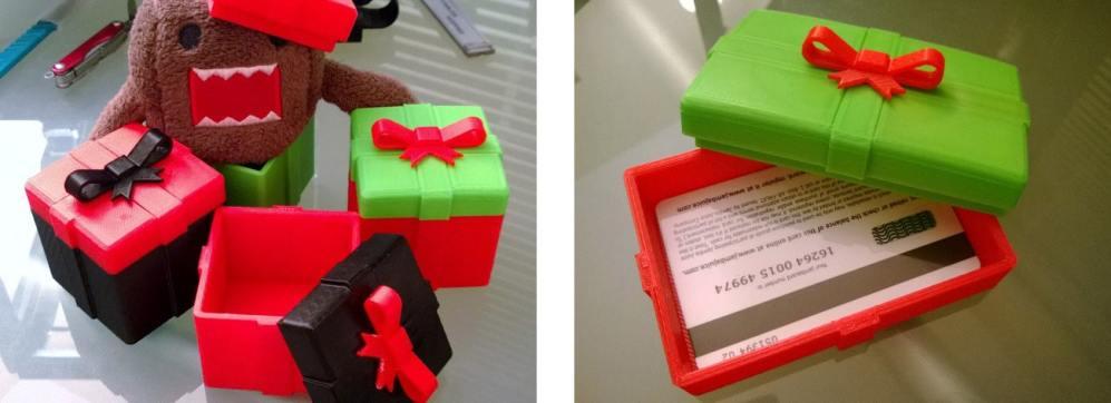 Cadeaux imprimés en 3D