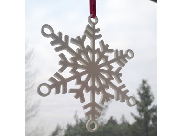 Flocon de neige design
