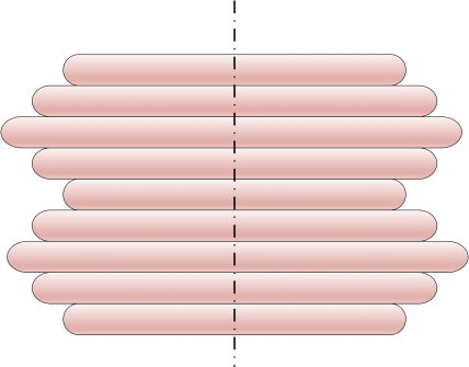 Oscillations symétriques