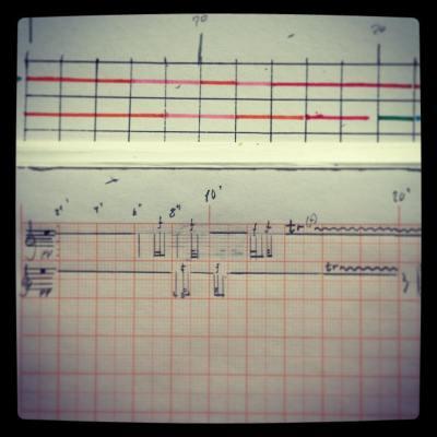 #transposing my #sketch to next level. #newpiece for #stringorchestra @arcticphilharmonic #composerlife