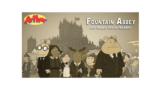 pbs kids premieres special downton abbey inspired episode of