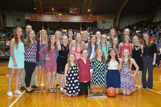 B Awards Girls B Basketball South Dakota High School