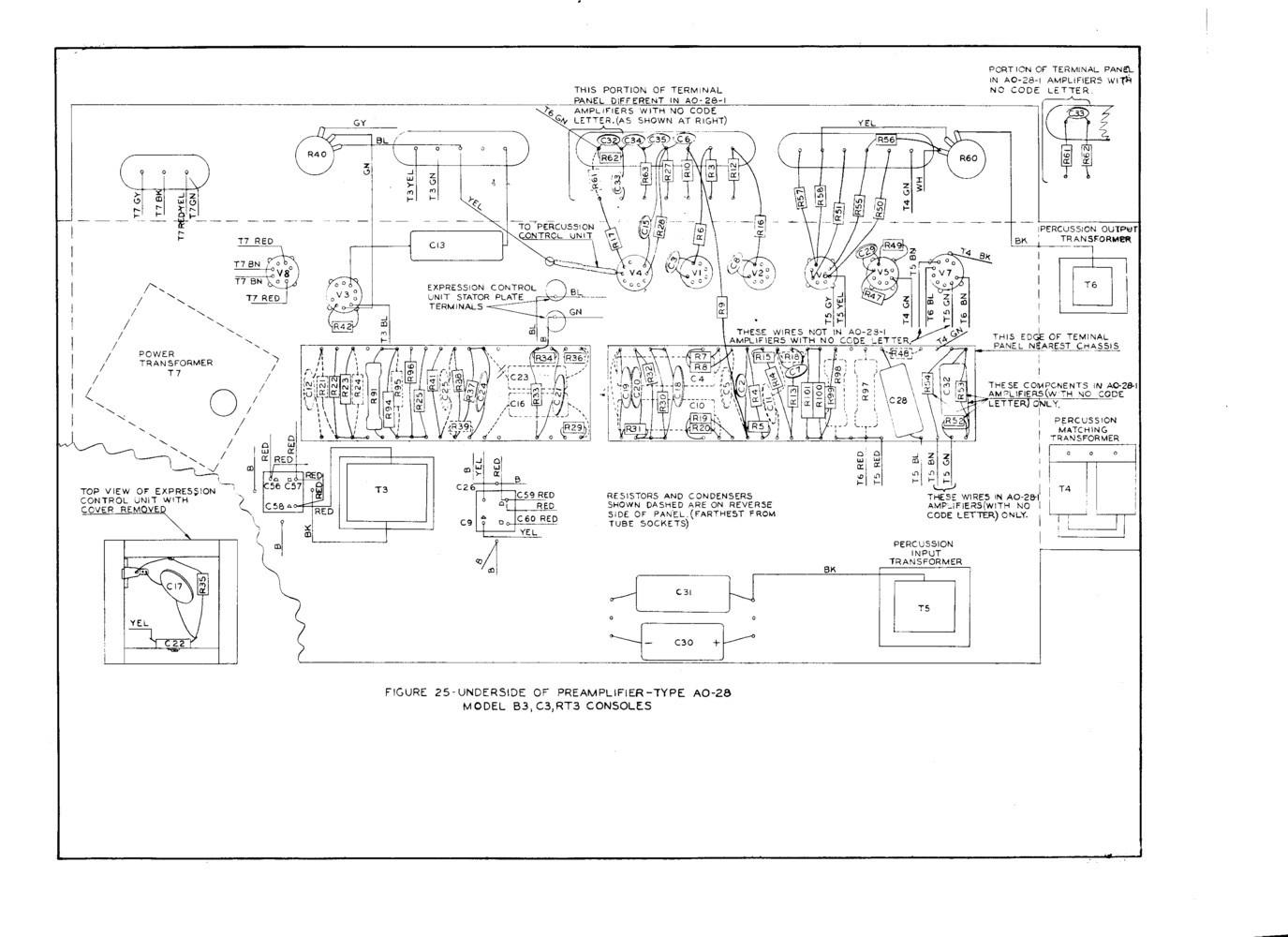 Servicing The Hammond B 3 Type Pre Amp