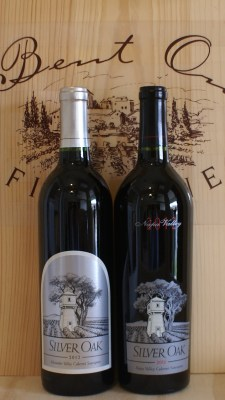 Silver Oak Alexander and Napa 2012