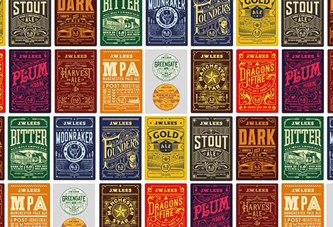 JW Lees – Beer Rebrand