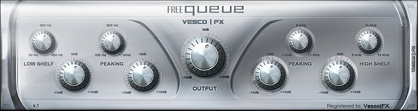 freeQueue Free EQ Plugin