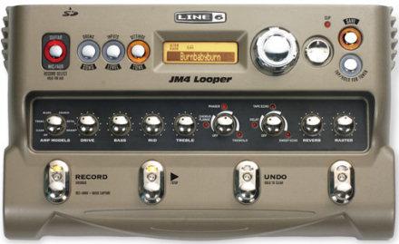 Line 6 JM4 Looper front