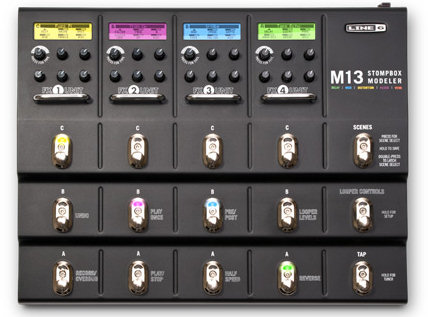 Line 6 M13 Stompbox Modeler front