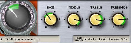lincoln brewster amp settings variac