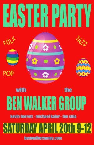 Ben Walker Group poster 2019