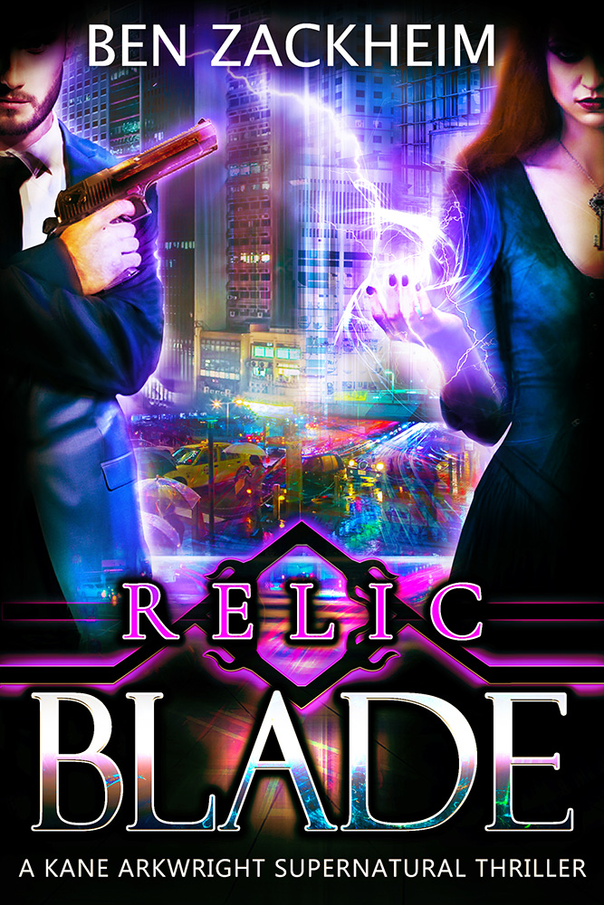 Relic Blade Kane Arkwright Supernatural Thriller ebook