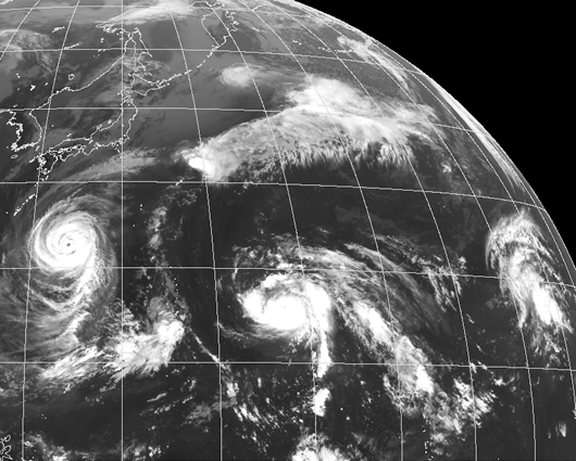 長期台風予測