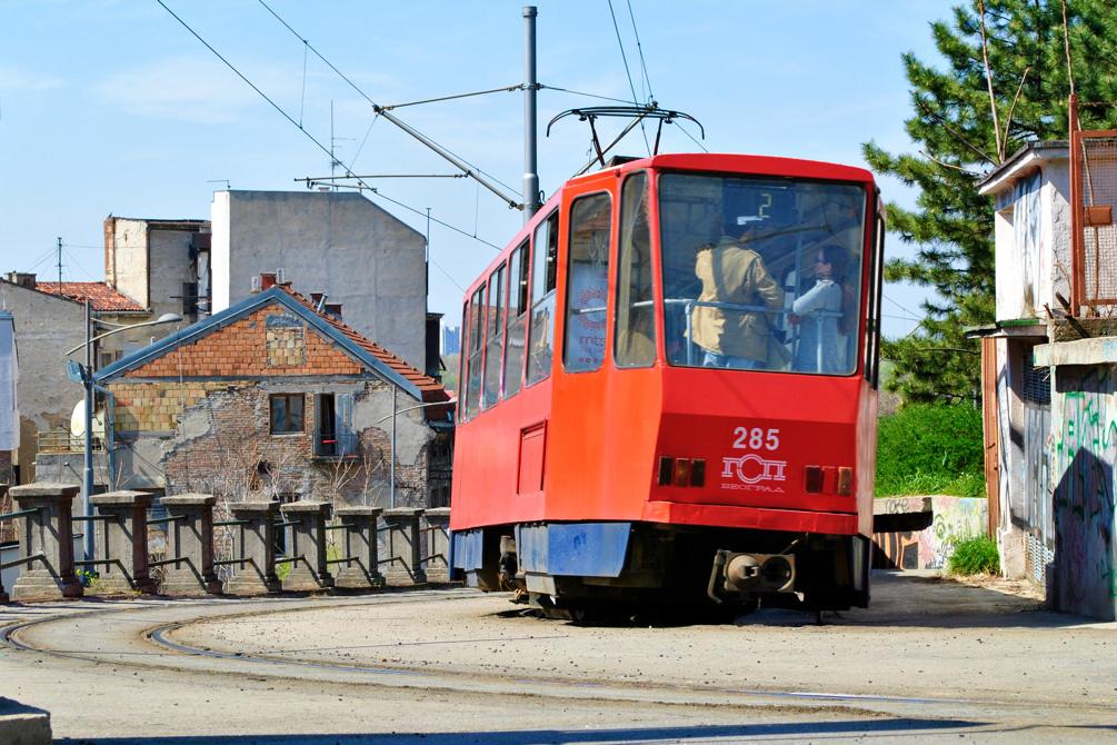 общественный транспорт белград сербия