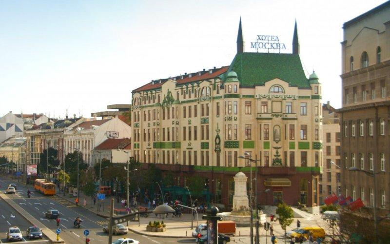 отель москва, белград