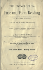 Note that this book concerns 'Practical and Scientific' physiognomy