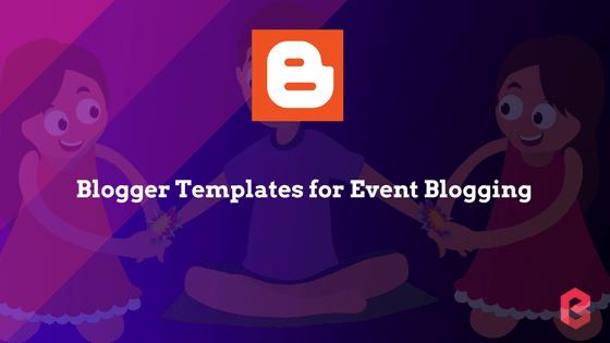 Event Blogging Templates