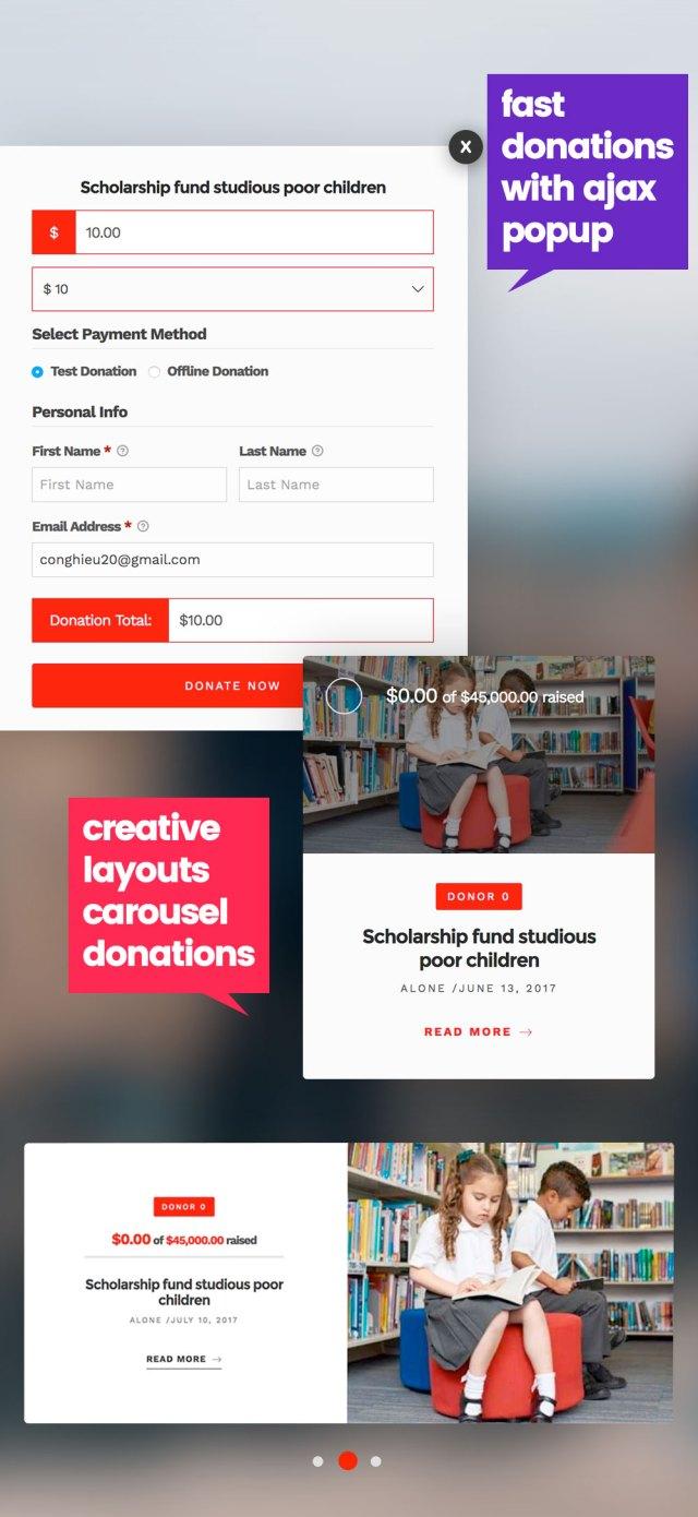 Alone – Charity Multipurpose Non-profit WordPress Theme - 3
