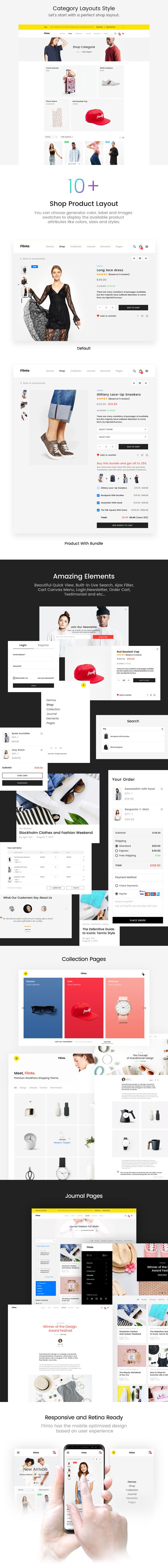 Flinto – Modern and Minimal eCommerce WordPress Theme - 4