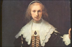 Rembrandt (Portrait of Agatha Bas-Bambeeck)