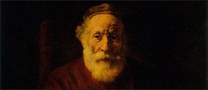 Rembrandt, Portrait of Old Man in Red (Hermitage, Saint-Petersburg)