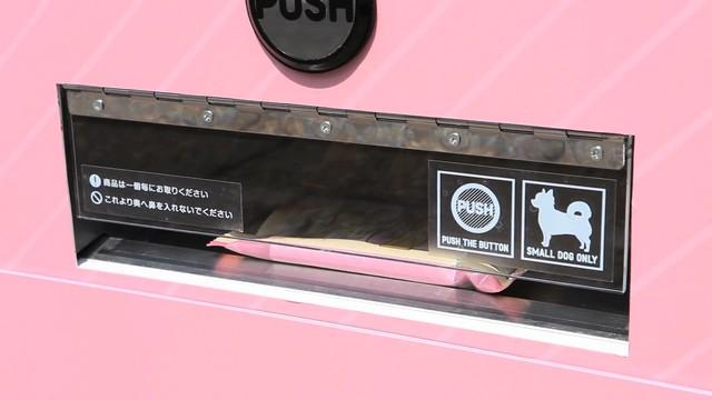 世界第一台小型犬專用自動販賣機