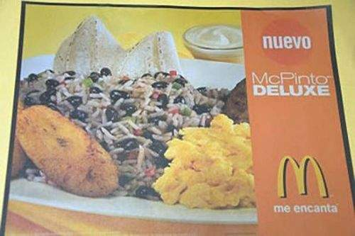 哥斯大黎加:McPinto