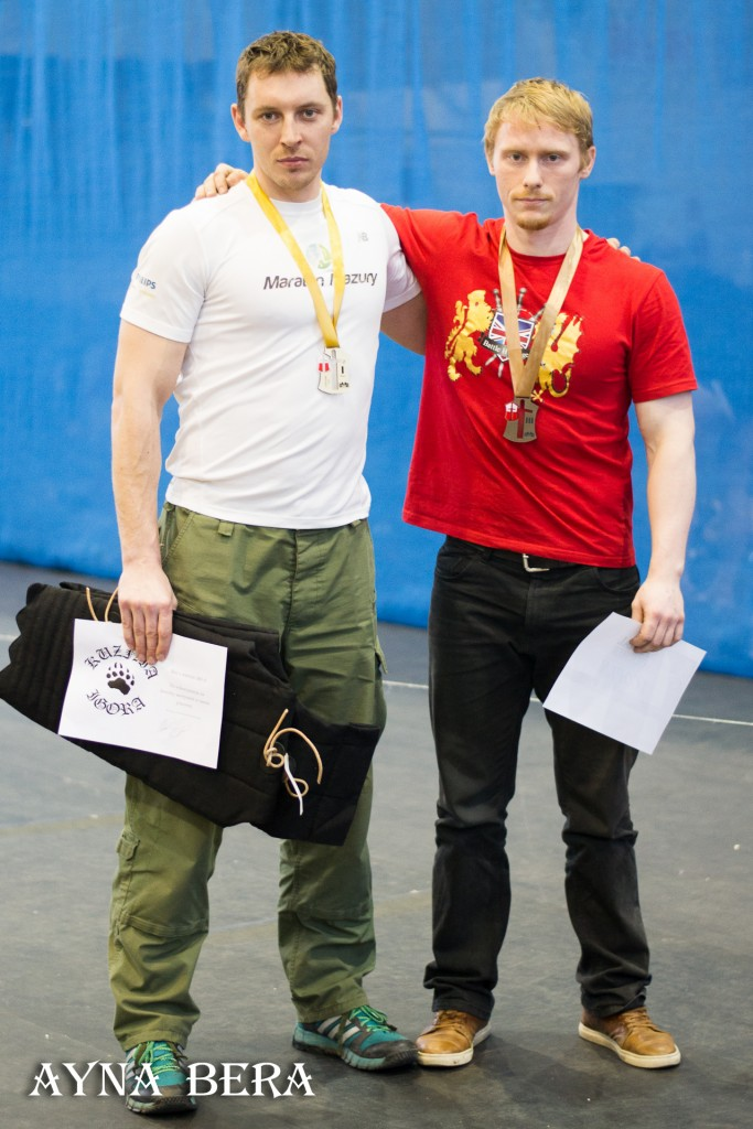 1. Marcin Waszkielis 2. Krzysztof Szatecki 3. Łukasz Kowal