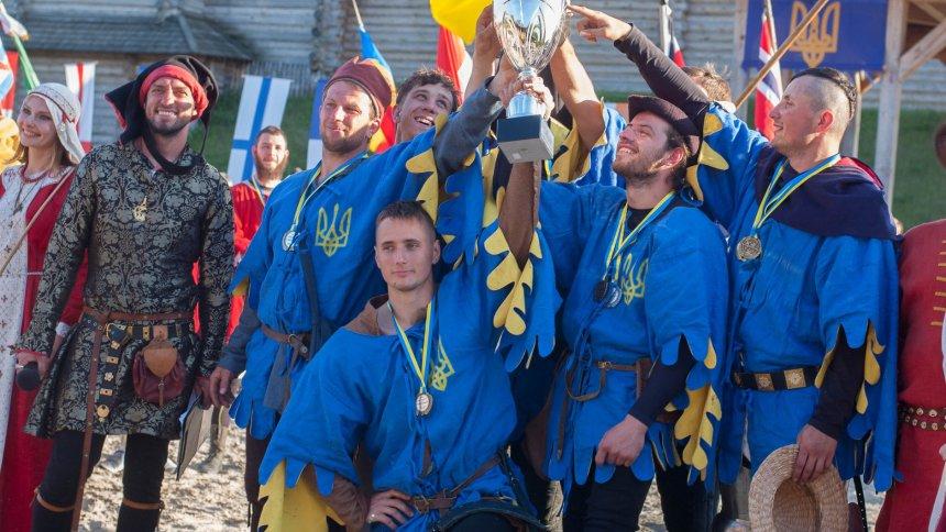 Збірна України з середньовічного бою