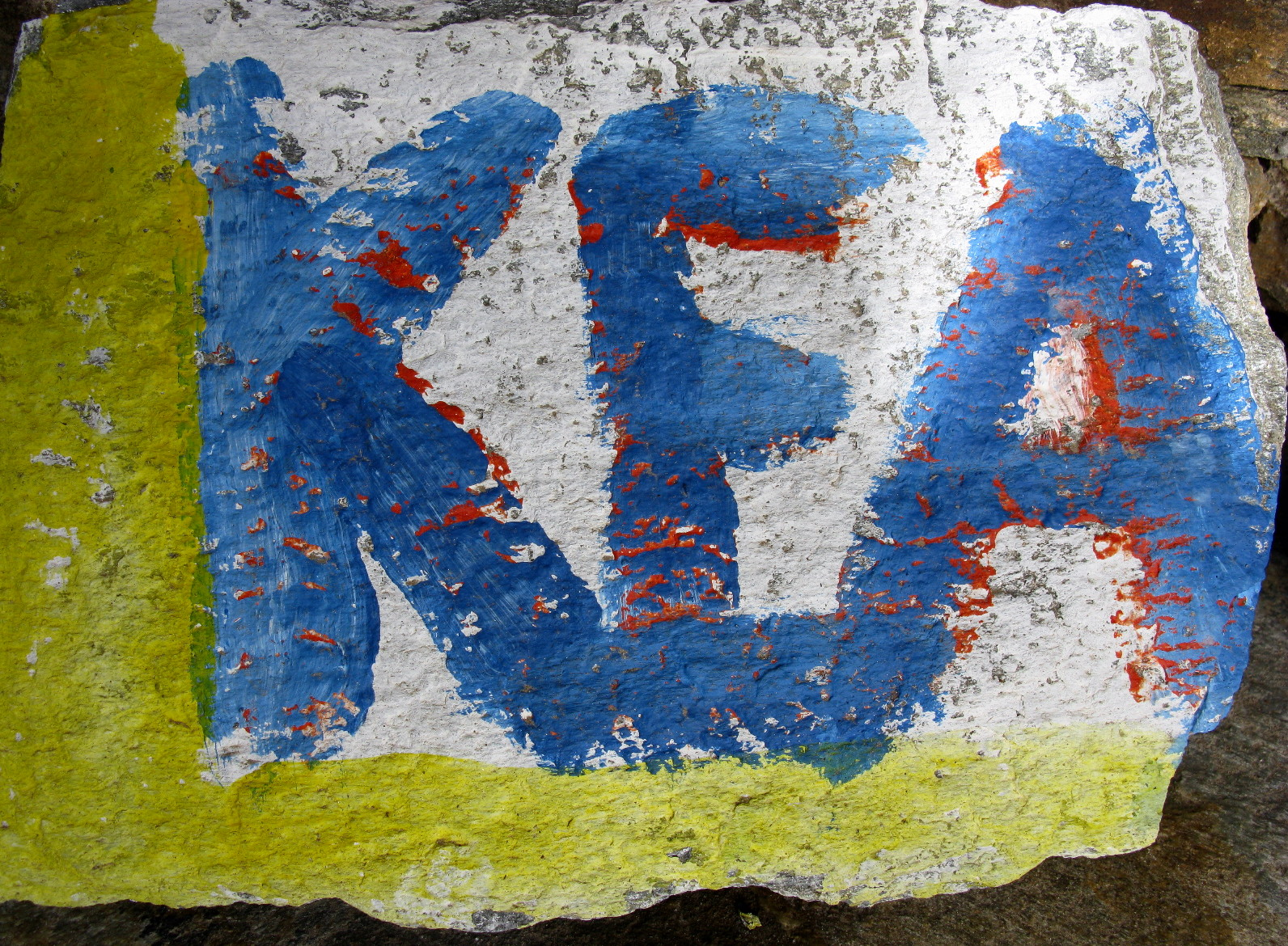 KEA name on stone